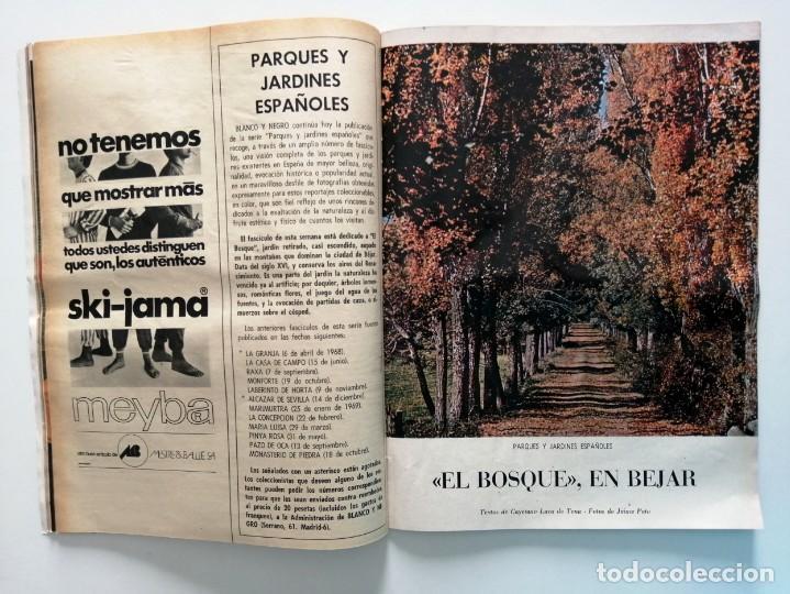 Coleccionismo de Revista Blanco y Negro: Blanco y Negro 3004 - Apolo XII Massiel Denton Cooley Joe Kennedy Jerusalen Bejar - VER FOTOS - Foto 12 - 206931473