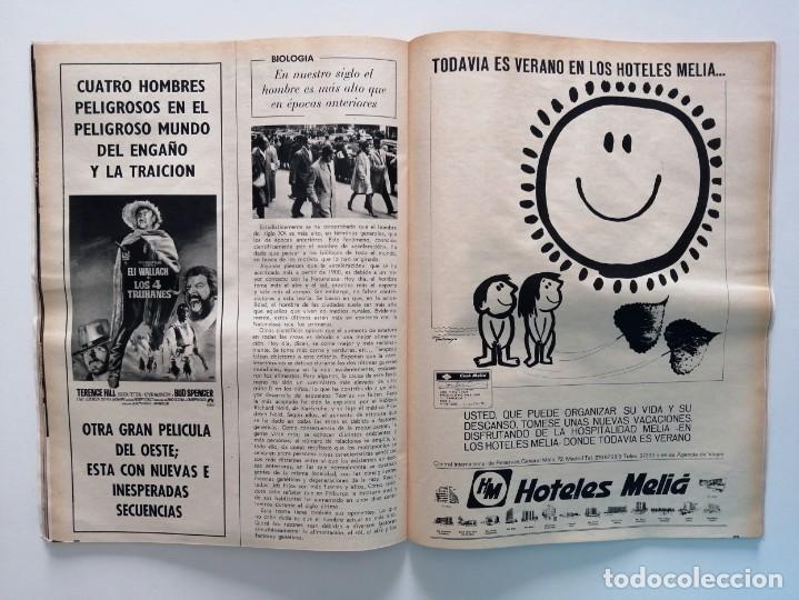 Coleccionismo de Revista Blanco y Negro: Blanco y Negro 3004 - Apolo XII Massiel Denton Cooley Joe Kennedy Jerusalen Bejar - VER FOTOS - Foto 16 - 206931473