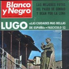 Coleccionismo de Revista Blanco y Negro: BLANCO Y NEGRO 3005 - LUGO APOLO XII DE GAULLE GUERRA VIETNAM JUAN CABANAS - VER FOTOS. Lote 206932286