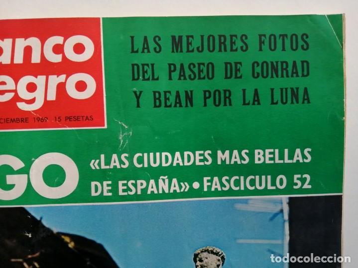 Coleccionismo de Revista Blanco y Negro: Blanco y Negro 3005 - Lugo Apolo XII de Gaulle Guerra Vietnam Juan Cabanas - VER FOTOS - Foto 3 - 206932286