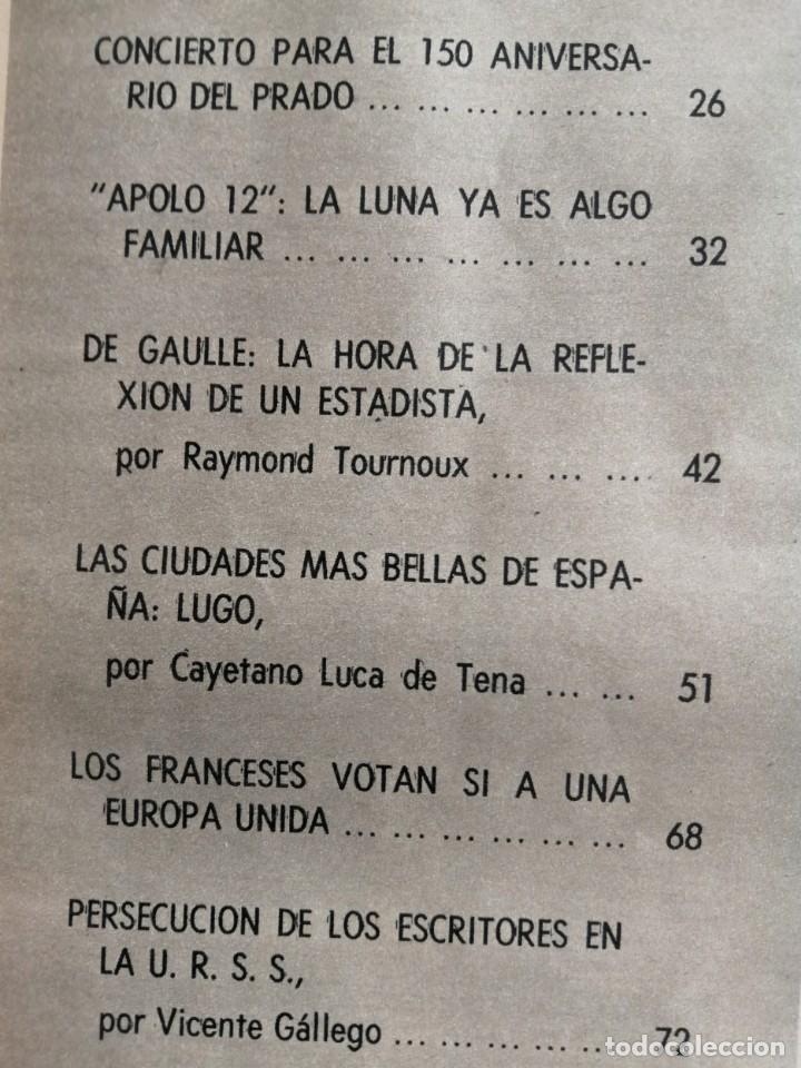 Coleccionismo de Revista Blanco y Negro: Blanco y Negro 3005 - Lugo Apolo XII de Gaulle Guerra Vietnam Juan Cabanas - VER FOTOS - Foto 8 - 206932286