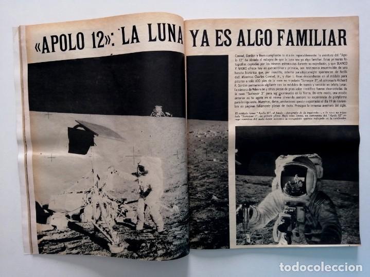 Coleccionismo de Revista Blanco y Negro: Blanco y Negro 3005 - Lugo Apolo XII de Gaulle Guerra Vietnam Juan Cabanas - VER FOTOS - Foto 10 - 206932286