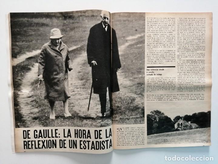 Coleccionismo de Revista Blanco y Negro: Blanco y Negro 3005 - Lugo Apolo XII de Gaulle Guerra Vietnam Juan Cabanas - VER FOTOS - Foto 15 - 206932286