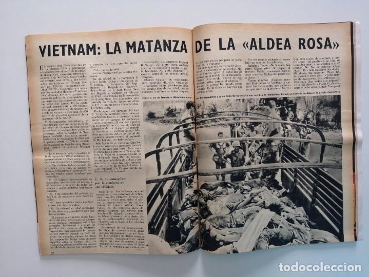Coleccionismo de Revista Blanco y Negro: Blanco y Negro 3005 - Lugo Apolo XII de Gaulle Guerra Vietnam Juan Cabanas - VER FOTOS - Foto 21 - 206932286