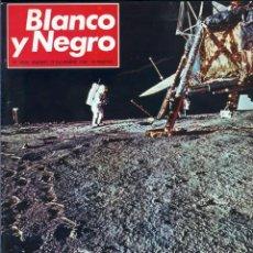 Coleccionismo de Revista Blanco y Negro: BLANCO Y NEGRO 3006 -APOLO XII DON JUAN CARLOS PAQUITA MARTÍN JUANITA CRUZ JULIO IGLESIAS -VER FOTOS. Lote 206937328