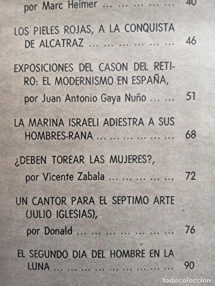 Coleccionismo de Revista Blanco y Negro: Blanco y Negro 3006 -Apolo XII Don Juan Carlos Paquita Martín Juanita Cruz Julio Iglesias -VER FOTOS - Foto 8 - 206937328