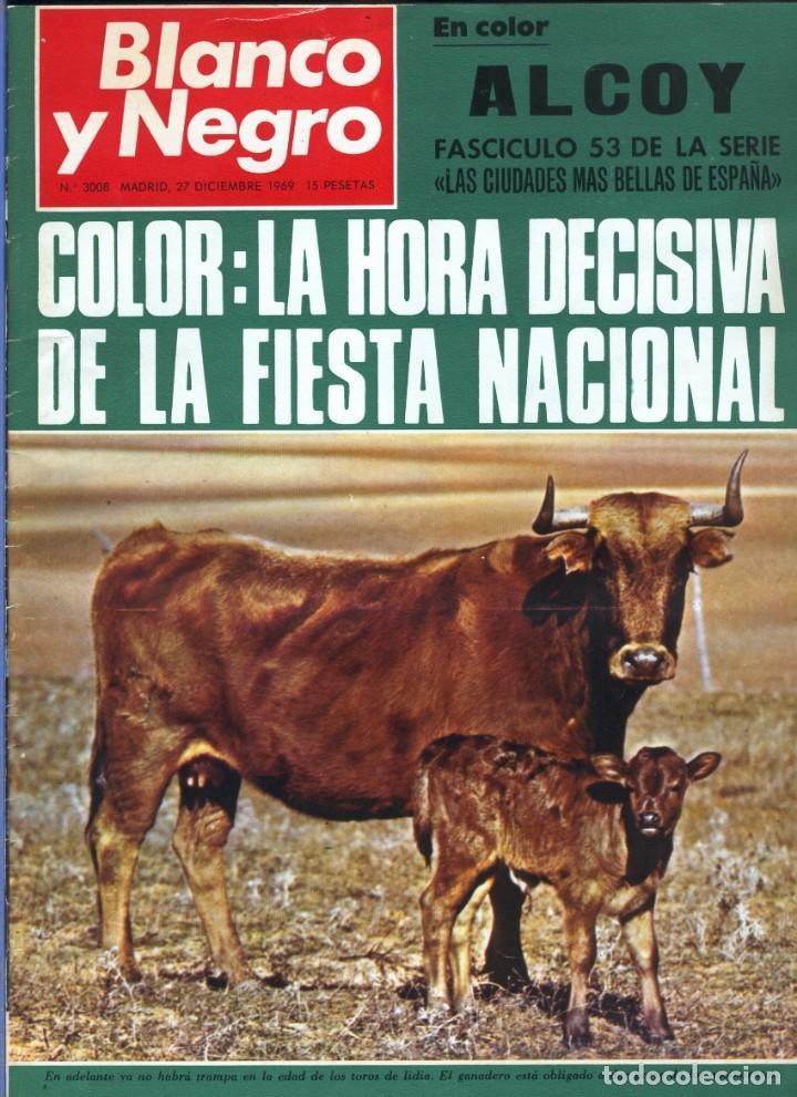 BLANCO Y NEGRO 3008 -HUSSEIN ATENAGORAS BEATLES JOHN LENNON KATHERINE HEPBURN COCO CHANEL -VER FOTOS (Coleccionismo - Revistas y Periódicos Modernos (a partir de 1.940) - Blanco y Negro)