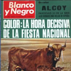 Coleccionismo de Revista Blanco y Negro: BLANCO Y NEGRO 3008 -HUSSEIN ATENAGORAS BEATLES JOHN LENNON KATHERINE HEPBURN COCO CHANEL -VER FOTOS. Lote 206938138