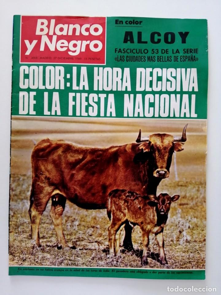 Coleccionismo de Revista Blanco y Negro: Blanco y Negro 3008 -Hussein Atenagoras Beatles John Lennon Katherine Hepburn Coco Chanel -VER FOTOS - Foto 2 - 206938138