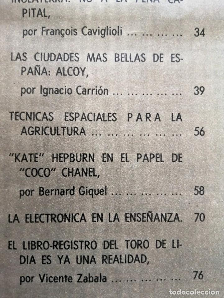 Coleccionismo de Revista Blanco y Negro: Blanco y Negro 3008 -Hussein Atenagoras Beatles John Lennon Katherine Hepburn Coco Chanel -VER FOTOS - Foto 8 - 206938138