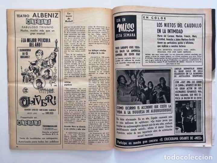 Coleccionismo de Revista Blanco y Negro: Blanco y Negro 3008 -Hussein Atenagoras Beatles John Lennon Katherine Hepburn Coco Chanel -VER FOTOS - Foto 21 - 206938138