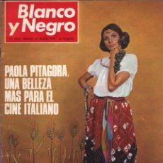 Collectionnisme de Magazine Blanco y Negro: BLANCO Y NEGRO 3073 - PAOLA PITÁGORA ANGEL NIETO FALLAS PAQUIRRI SIGFRIDO BURMANN VERONÉS -VER FOTOS. Lote 207123220