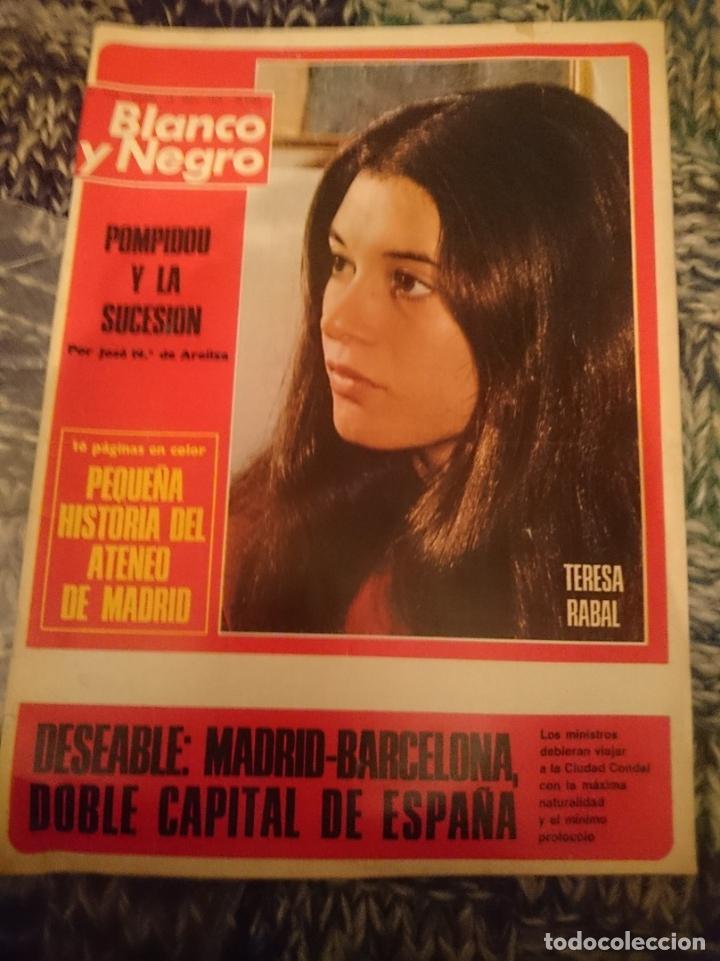 BLANCO Y NEGRO N 3232 AÑO 1974 - INMA DE SANTIS, TERESA RABAL, POMPIDOU, ATENEO DE MADRID (Coleccionismo - Revistas y Periódicos Modernos (a partir de 1.940) - Blanco y Negro)