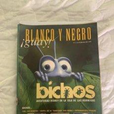 Coleccionismo de Revista Blanco y Negro: BLANCO Y NEGRO GUAY Nº 1 14-02-1999 BICHOS. Lote 209351583