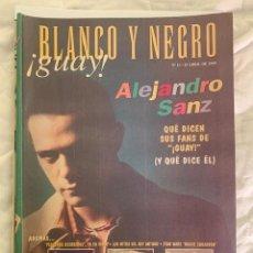 Coleccionismo de Revista Blanco y Negro: BLANCO Y NEGRO GUAY Nº 11 25-05-1999 ALEJANDRO SANZ. Lote 209351723