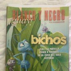 Coleccionismo de Revista Blanco y Negro: BLANCO Y NEGRO GUAY Nº 38 31-10-1999 BICHOS. Lote 209351760