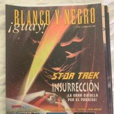 Coleccionismo de Revista Blanco y Negro: BLANCO Y NEGRO GUAY Nº 8 04-05-1999 STAR TREK. Lote 209351793
