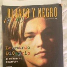 Coleccionismo de Revista Blanco y Negro: BLANCO Y NEGRO GUAY Nº 3 28-02-1999 LEONARDO DI CAPRIO. Lote 209359073