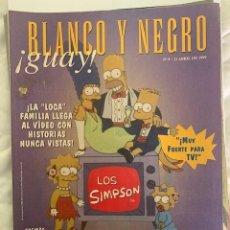 Coleccionismo de Revista Blanco y Negro: BLANCO Y NEGRO GUAY Nº 9 11-05-1999 LOS SIMPSONS. Lote 209359240