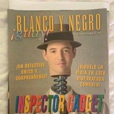 Coleccionismo de Revista Blanco y Negro: BLANCO Y NEGRO GUAY Nº 30 05-09-1999 INSPECTOR GADGET. Lote 209359360