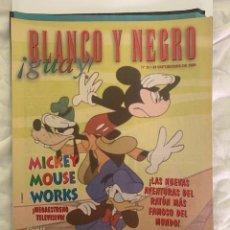 Coleccionismo de Revista Blanco y Negro: BLANCO Y NEGRO GUAY Nº 32 19-10-1999 MICKEY MOUSE. Lote 209359492
