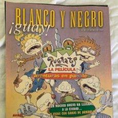 Coleccionismo de Revista Blanco y Negro: BLANCO Y NEGRO !GUAY! Nº 20 27-06-1999 RUGRATS LA PELICULA. Lote 209417846