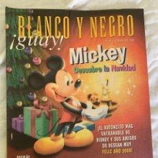 Coleccionismo de Revista Blanco y Negro: BLANCO Y NEGRO !GUAY! Nº 47 02-01-2000 MICKEY DESCUBRE LA NAVIDAD. Lote 209583827