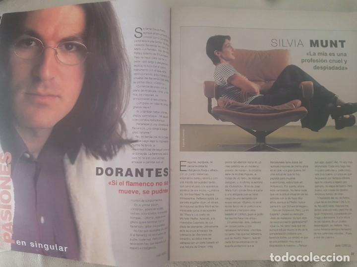 Coleccionismo de Revista Blanco y Negro: REVISTA BLANCO Y NEGRO DORANTES / MICHAEL JORDAN / JOHNNY DEEP / ALEJANDRO SANZ / 28 DE JUNIO 1998. - Foto 4 - 210122466
