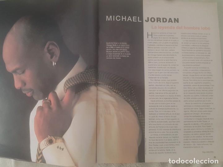 Coleccionismo de Revista Blanco y Negro: REVISTA BLANCO Y NEGRO DORANTES / MICHAEL JORDAN / JOHNNY DEEP / ALEJANDRO SANZ / 28 DE JUNIO 1998. - Foto 5 - 210122466