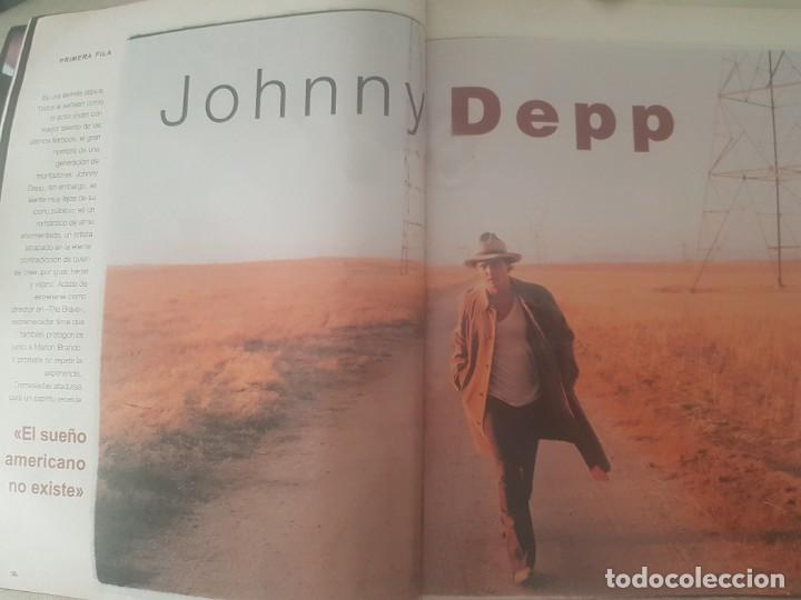 Coleccionismo de Revista Blanco y Negro: REVISTA BLANCO Y NEGRO DORANTES / MICHAEL JORDAN / JOHNNY DEEP / ALEJANDRO SANZ / 28 DE JUNIO 1998. - Foto 6 - 210122466