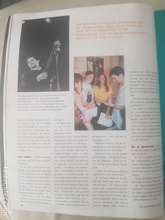 Coleccionismo de Revista Blanco y Negro: REVISTA BLANCO Y NEGRO DORANTES / MICHAEL JORDAN / JOHNNY DEEP / ALEJANDRO SANZ / 28 DE JUNIO 1998. - Foto 10 - 210122466