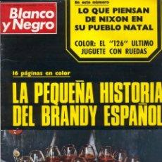 Colecionismo de Revistas Preto e Branco: BLANCO Y NEGRO 3159 - BRANDY DALÍ ISACIO CALLEJA ATLÉTICO DE MADRID NITA EDBERG NIXON LUISA FRAGA. Lote 213493353