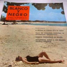 Coleccionismo de Revista Blanco y Negro: REVISTA BLANCO Y NEGRO 1959, REPORTAJES: PETROLEO EN ESPAÑA, R. MADRID-CARRANZA, BAHAMONTES.... Lote 214111352