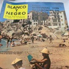 Coleccionismo de Revista Blanco y Negro: REVISTA BLANCO Y NEGRO 1959, REPORTAJES: MANIOBRAS OP. DULCINEA, TAXIDERMIA, CHARLOT, BAHAMONTE.... Lote 214115246