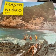Coleccionismo de Revista Blanco y Negro: REVISTA BLANCO Y NEGRO 1959, REPORTAJES: BAHAMONTES, ECLIPSE, HUNDIMIENTO ANDREA DORIA.... Lote 214118855