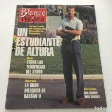 Coleccionismo de Revista Blanco y Negro: BLANCO Y NEGRO 9-1993 ANA OBREGON CL SCHIFFER BEATRIZ RICO JODIE FOSTER HUGO SANCHEZ PRINCIPE FELIPE. Lote 214163553