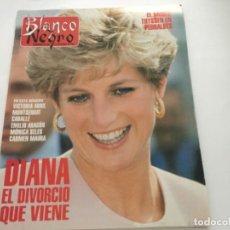 Coleccionismo de Revista Blanco y Negro: BLANCO Y NEGRO 9-1993 LADY DIANA CARMEN MAURA EMILIO ARAGON MONTSERRAT CABALLÉ VICTORIA ABRIL THYSS. Lote 214163843