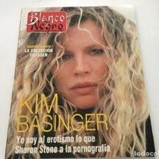 Coleccionismo de Revista Blanco y Negro: BLANCO Y NEGRO 1992 KIM BASINGER NICOLAS II ROCIO JURADO HARRISON FORD SINEAD O'CONNOR CONCHA PIQUER. Lote 214165512