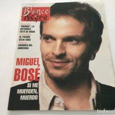 Coleccionismo de Revista Blanco y Negro: BLANCO Y NEGRO 3 1993 MIGUEL BOSE MARTA SANCHEZ LETICIA SABATER AL PACINO HUBBLE CARMEN MORELL PEPE. Lote 214165711