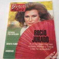 Coleccionismo de Revista Blanco y Negro: BLANCO Y NEGRO 2 1992 ROCIO JURADO NICOLE KIDMAN BENITO FLORO CONCHA VELASCO BENITO FLORO. Lote 214166461