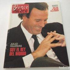 Coleccionismo de Revista Blanco y Negro: BLANCO Y NEGRO 6 1992 JULIO IGLESIAS DAVID BYRNE ALEJANDRA BOTTO MACAULAY CULKIN MARTES Y TRECE. Lote 214167713