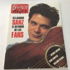 Coleccionismo de Revista Blanco y Negro: BLANCO Y NEGRO 1992 ALEJANDRO SANZ MECANO MARK KNOPFLER CARLOS CANO ANTHONY HOPKINS RAFFAELLA CARRA. Lote 214168541