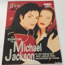 Coleccionismo de Revista Blanco y Negro: BLANCO Y NEGRO 7 1992 INDURAIN MICHAEL JACKSON DREW BARRYMORE DAVID HOCKNEY. Lote 214169122