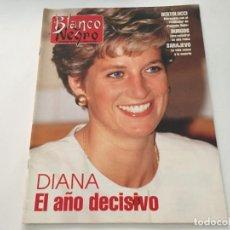 Coleccionismo de Revista Blanco y Negro: BLANCO Y NEGRO 1994 LADY DI CATEDRAL DE BURGOS SEAN YOUNG IRENE GUTIERREZ CABA BERTOLUCCI ALPUJARRA. Lote 214171102