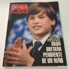 Coleccionismo de Revista Blanco y Negro: BLANCO Y NEGRO 12 1992 PRINCIPE GUILLERMO ANTOÑITA MORENO NATALIA ESTRADA MERYL STREEP PALOMA PICA. Lote 214171365