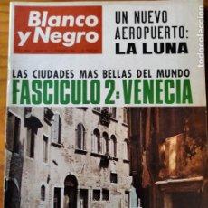 Coleccionismo de Revista Blanco y Negro: BLANCO Y NEGRO Nº 2806 DE 1966- SOFIA LOREN MARLON BRANDO- REAL MADRID- BUSTER KEATON- VENECIA- BMW. Lote 214192157