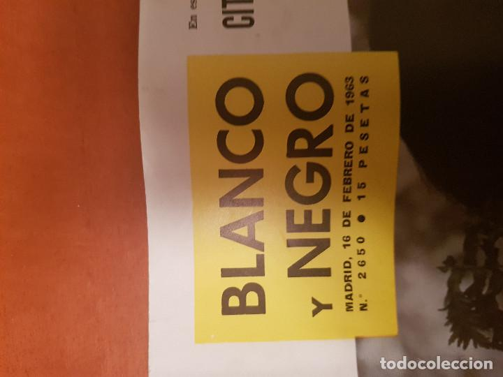Coleccionismo de Revista Blanco y Negro: BLANCO Y NEGRO REVISTA Nº 2650 MADRID, 16 DE FEBRERO 1963_MARIA TERESA 1ª DAMA COSTA DE MARFIL. - Foto 2 - 214941160