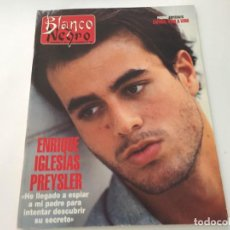 Coleccionismo de Revista Blanco y Negro: BLANCO Y NEGRO 11 1995 ENRIQUE IGLESIAS DAVID SANTIESTEBAN MONTSERRAT MARTI VENEZUELA BALDUINO. Lote 215834310