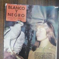 Collectionnisme de Magazine Blanco y Negro: REVISTA BLANCO Y NEGRO. NOVIEMBRE 1958. CETREROS EN ESPAÑA. OCASO POLITICO DE ELSEN HOWEER.. Lote 216438478