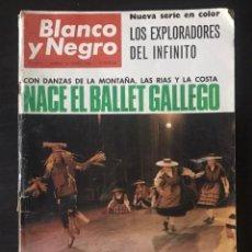 Coleccionismo de Revista Blanco y Negro: REVISTA BLANCO Y NEGRO Nº 2812 DEL 26 DE MARZO DE 1966. Lote 216525350